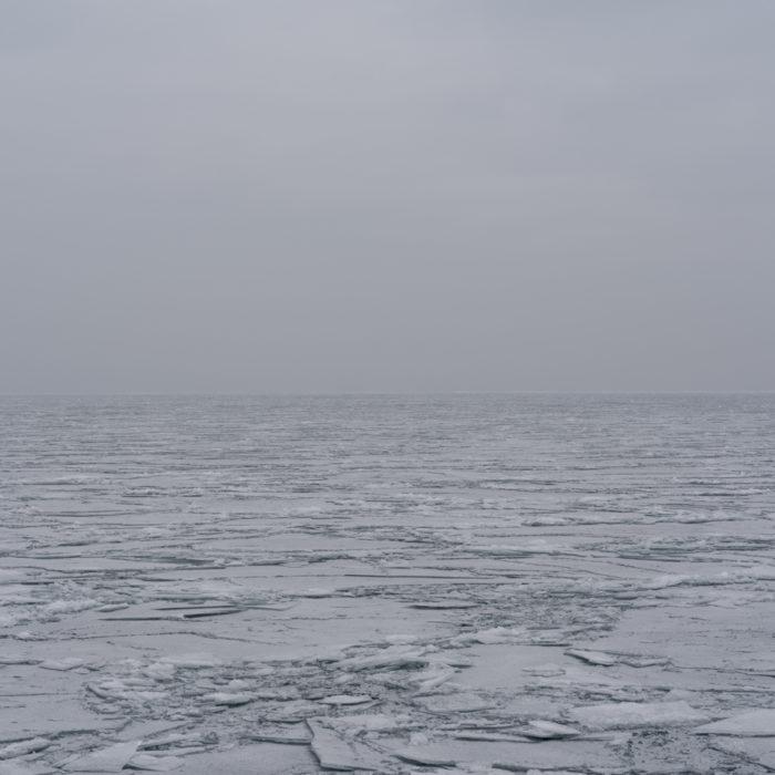 splintered geometries Contemporary art photograph of Lake Michigan from Chicago by artist Lincoln Schatz @lincolnschatz.com