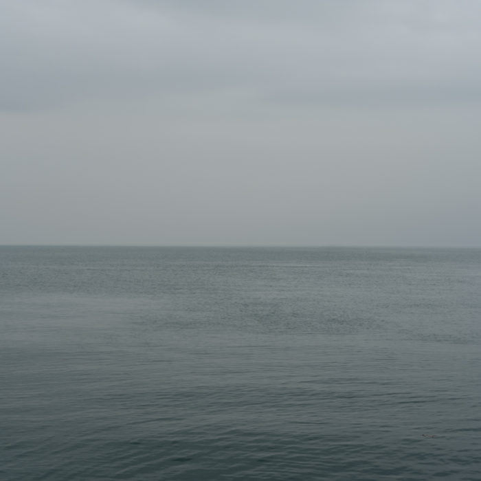 superflat! Contemporary art photograph of Lake Michigan from Chicago by artist Lincoln Schatz @lincolnschatz.com