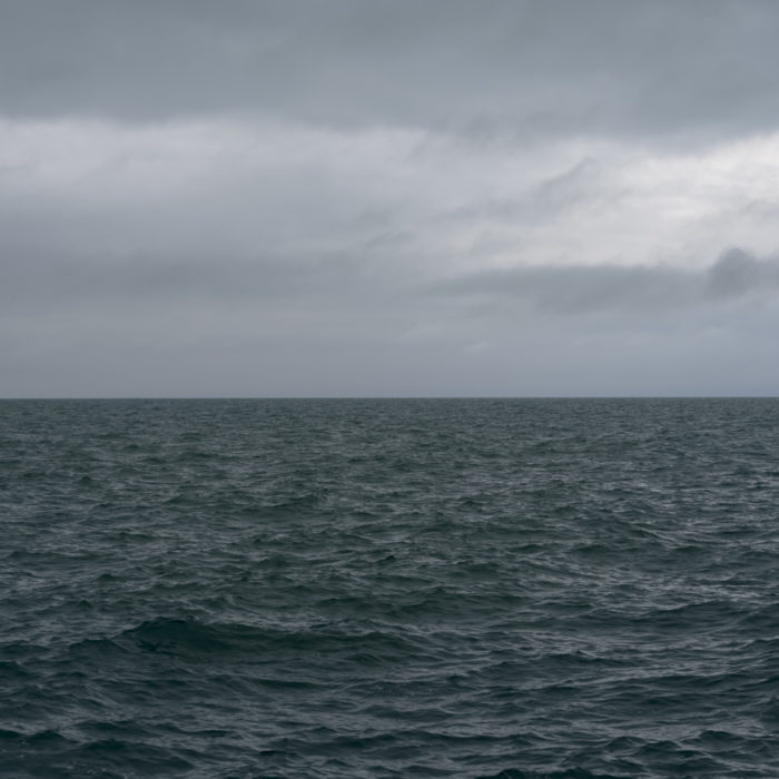 change in weather Contemporary art photograph of Lake Michigan from Chicago by artist Lincoln Schatz @lincolnschatz.com