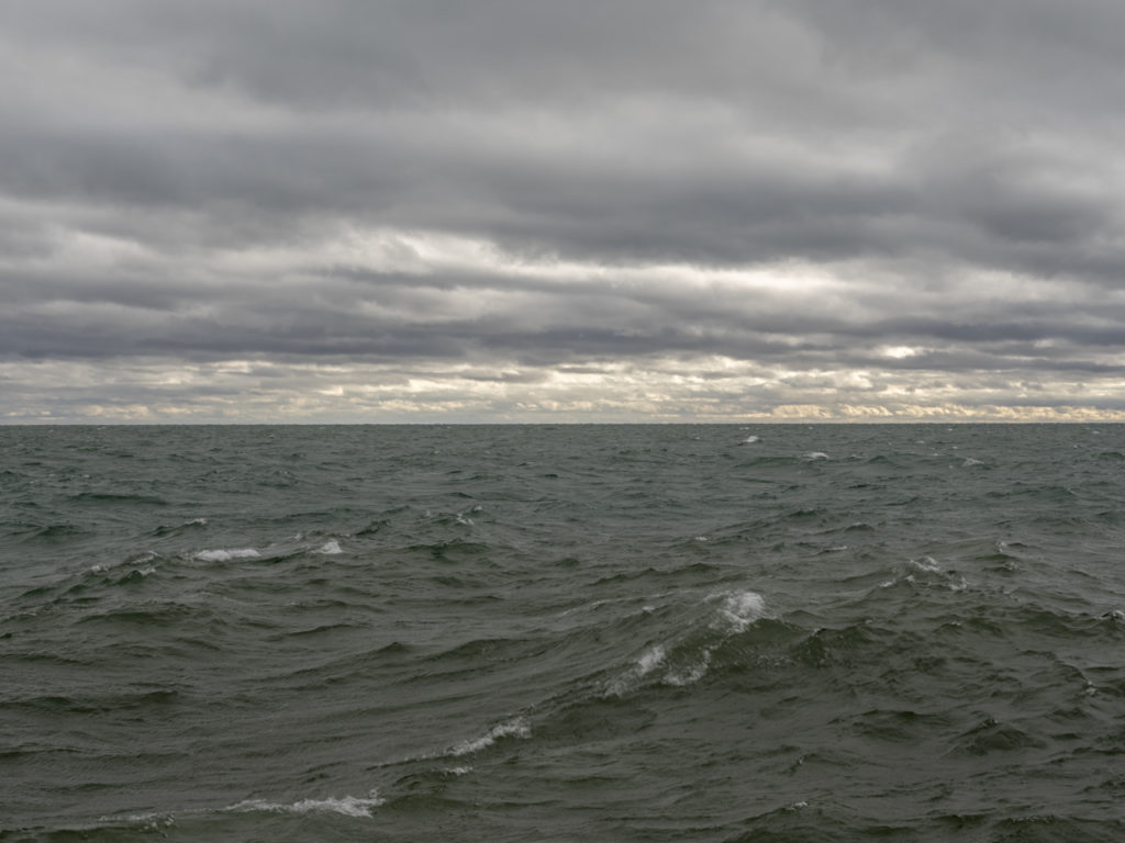Photographs of Lake Michigan from Chicago by contemporary artist Lincoln Schatz