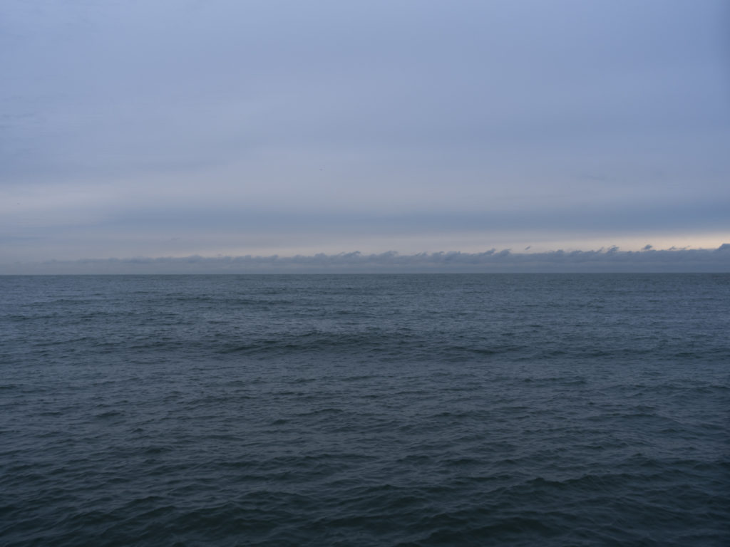 Fine Art Photography of Lake Michigan early morning with swells from Chicago by Contemporary Photographer Lincoln Schatz
