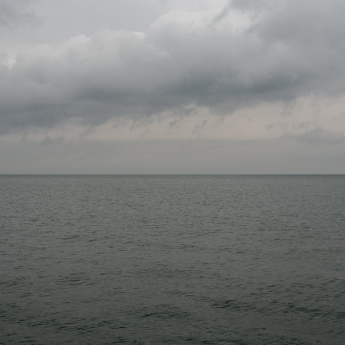 fast weather Contemporary photography landscapes of Lake Michigan from Chicago by contemporary artist Lincoln Schatz