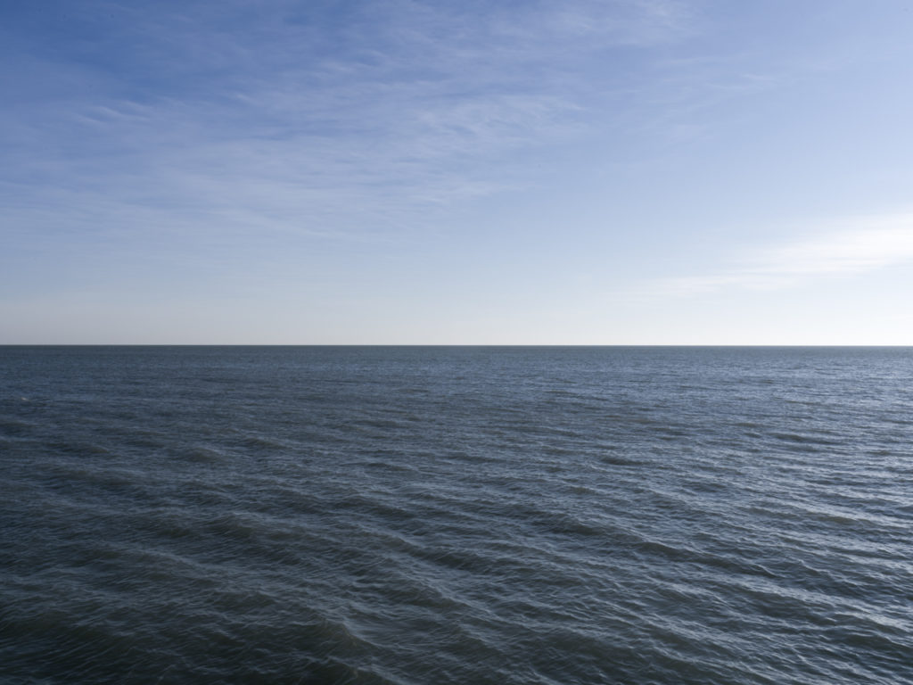 Fine Art Photography of Lake Michigan blueish green from Chicago by Contemporary Photographer Lincoln Schatz