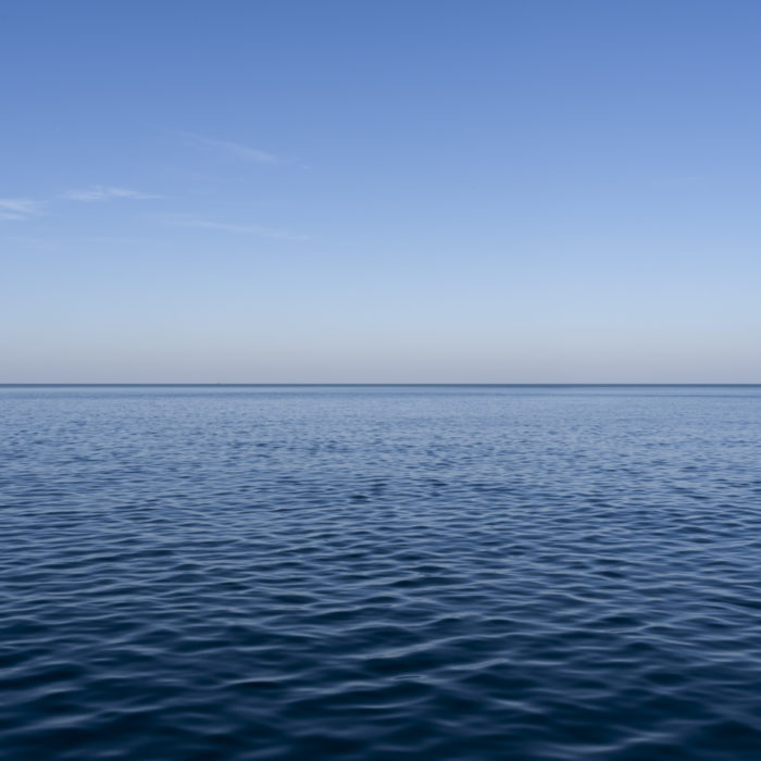 Fine Art Photography of Lake Michigan with dimpled water from Chicago by Contemporary Photographer Lincoln Schatz