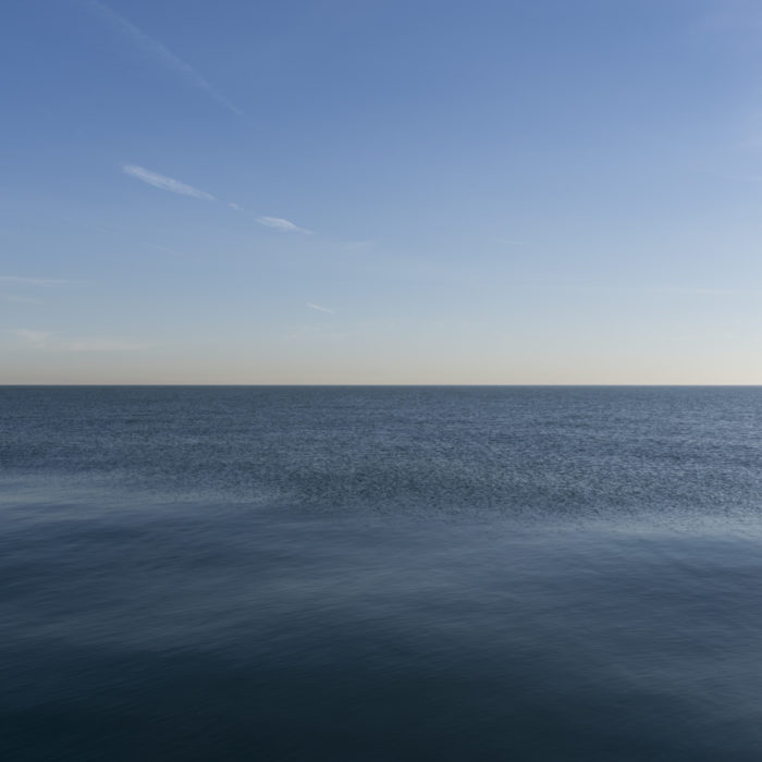 Fine Art Photography of Lake Michigan with an offshore wind from Chicago by Contemporary Photographer Lincoln Schatz