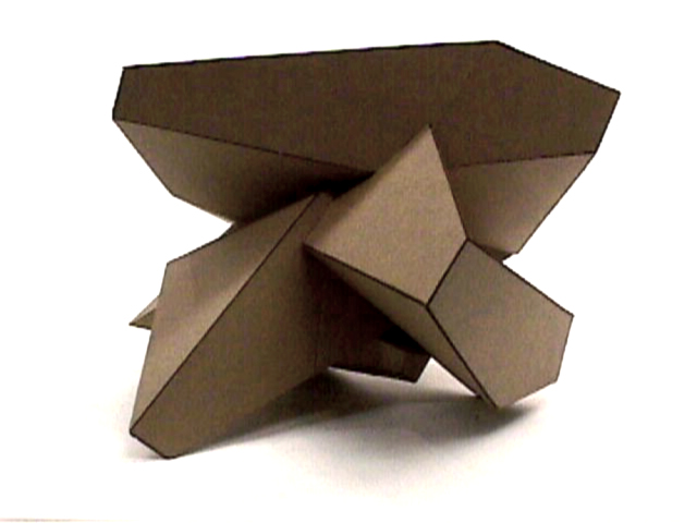 Cardboard Sculptures