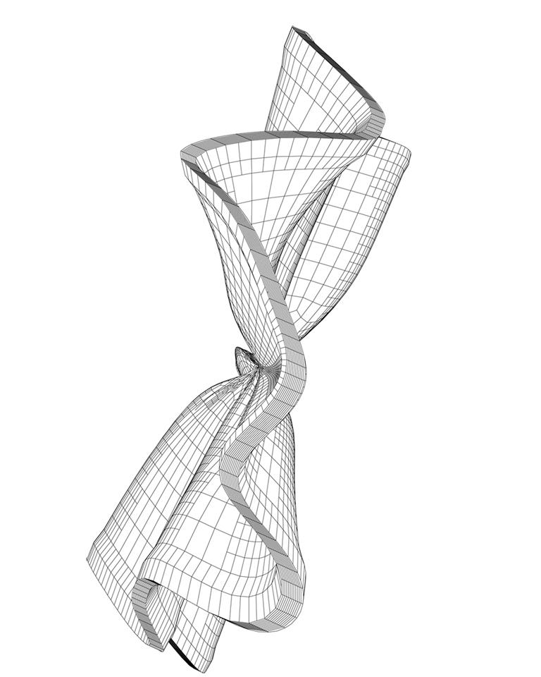 Wireframe Drawings - Lincoln Schatz Studio, Fine Art