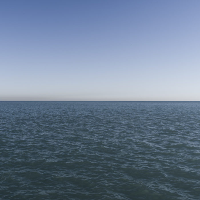 Fine Art Photography of blue Lake Michigan from Chicago by Contemporary Photographer Lincoln Schatz