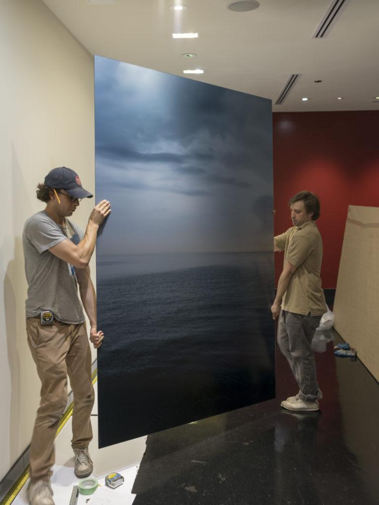 Lake Series at ikram, Installation 3