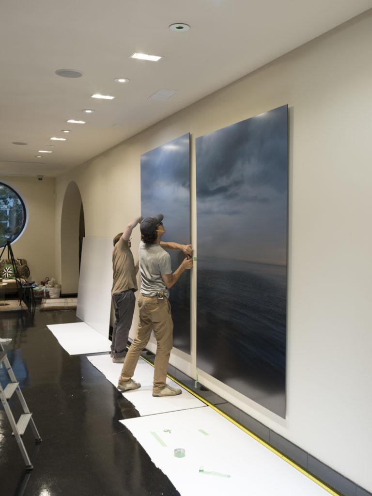 Lake Series at ikram, Installation 5