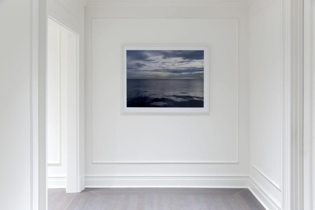 Lake Series framed photograph installed Fine art photograph of Lake Michigan from Chicago by artist Lincoln Schatz @lincolnschatz.com
