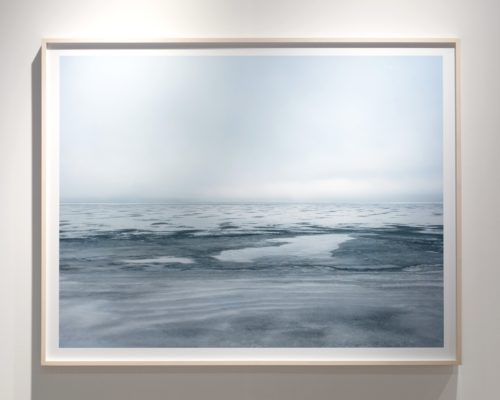 Framed Lake Series photograph Fine art photograph of Lake Michigan from Chicago by artist Lincoln Schatz @lincolnschatz.com